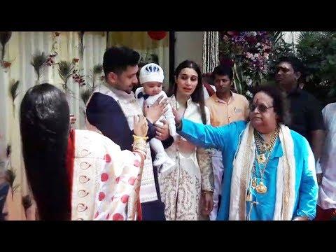connectYoutube - Bappi Lahiri HOSTS Rice Eating Ceremony For Grandson Krishh - Annaprasanna