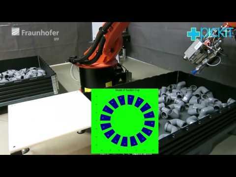 pickit – Multi-modal bin-picking for new industrial tasks