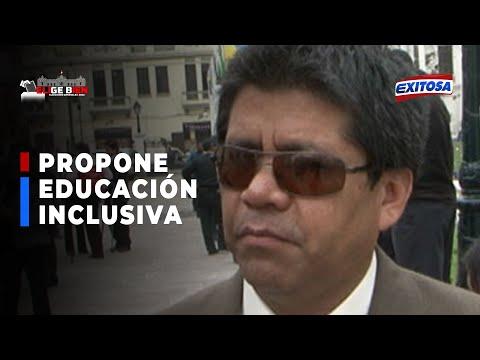 Elige Bien | Candidato Guzmán propone educación inclusiva para personas con discapacidad