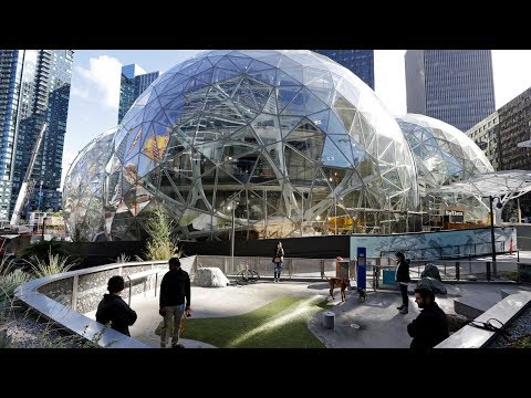 connectYoutube - Cities' Bizarre Bids to Be Amazon's New Home | NYT News