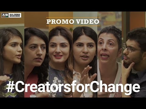 connectYoutube - Creators for Change | AIB Podcast : Promo
