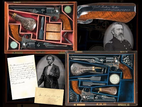 Four Presentation Colt Revolvers of General Andrew Porter