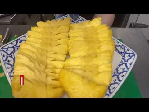 วิธีปอกสัปปะรดง่ายๆ-ครัวไทยในต