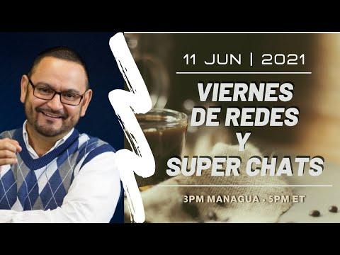 CAFE CON VOZ | Viernes de Redes y Súper Chats con Luis Galeano| 11-Jun-2021