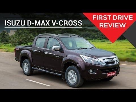 Isuzu D-Max V-Cross | First Drive Review | ZigWheels