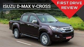 Isuzu D-Max V-Cross   First Drive Review   ZigWheels