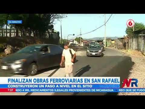 INCOFER finaliza obras ferroviarias en San Rafael de Alajuela