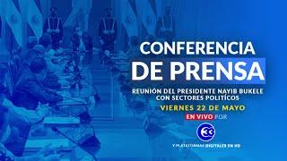 #ConferenciaDePrensa | Jueves 22 de mayo de 2020