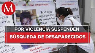 Suspenden actividades de búsqueda de personas desaparecidas en Salvatierra