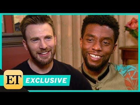 Chris Evans Praises Chadwick Boseman in 'Black Panther' (Exclusive)