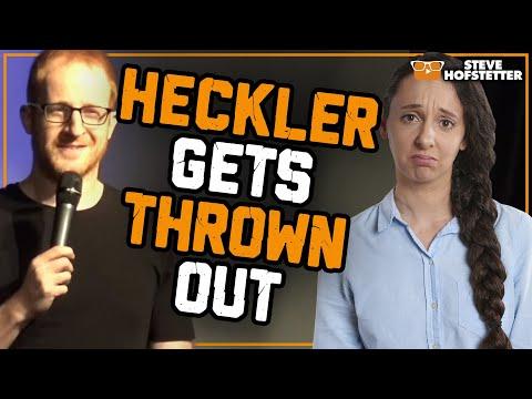 connectYoutube - Heckler gets kicked out - Steve Hofstetter