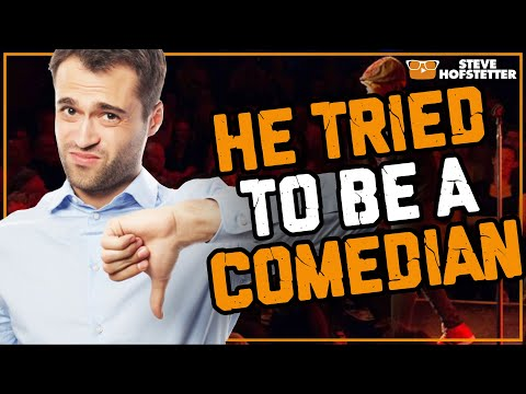 connectYoutube - Man fails at being a comedian - Steve Hofstetter