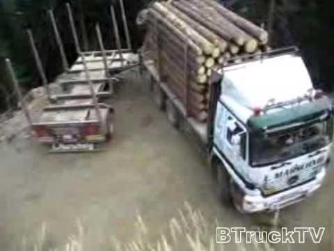 Video: Incredible turning maneuver. -