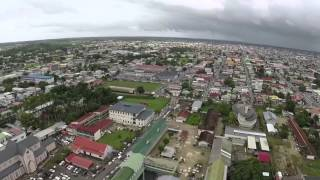 Paramaribo Surinam - From the Sky