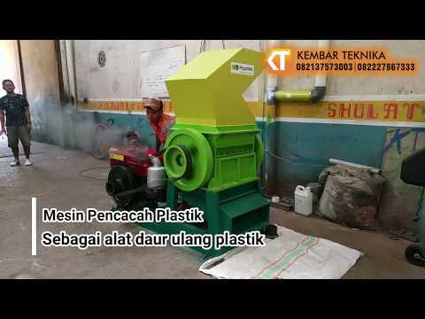 Mesin Cacah Plastik | Mesin Daur Ulang Plastik