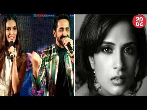 Ayushmann - Kriti Talk About 'Twist Kamariya' Song | Richa Chaddha Down With Swine Flu