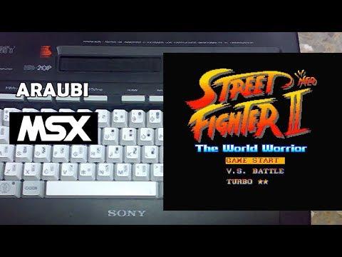 Street Neo Fighter II (BUMP, 1994) MSX2 [368] Walkthrough Comentado
