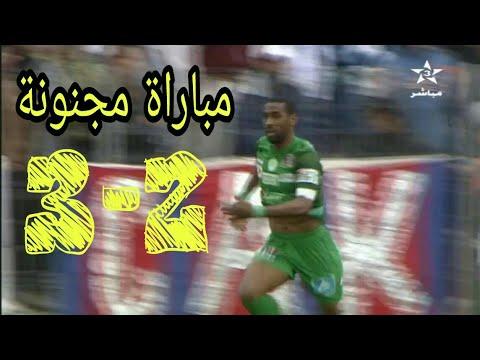 أهداف مباراة شباب خنيفرة والرجاء البيضاوي