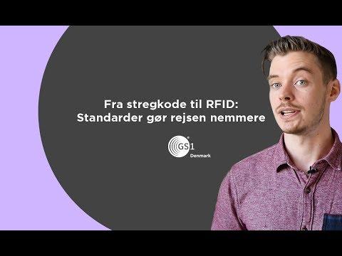 Fra stregkode til RFID: Standarder gør rejsen nemmere