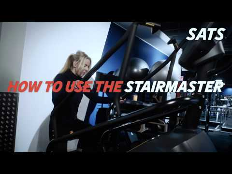 HOW TO USE THE STAIRMASTER | NEW TO SATS