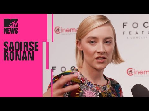 Saoirse Ronan on Margot Robbie & 'Mary, Queen of Scots' | CinemaCon | MTV News