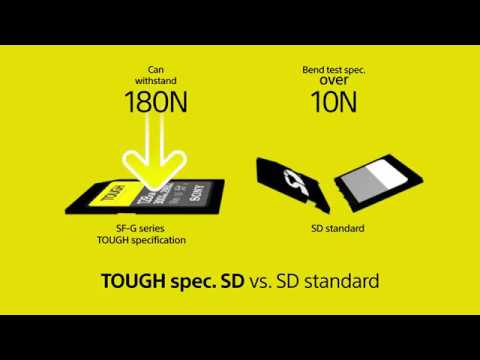 NEW | Sony TOUGH SD Card: The World's TOUGHEST and FASTEST!