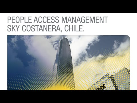 People Access Management Sky Costanera, Chile [Spanish]