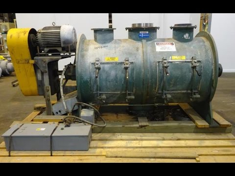 Used- Littleford Plow Mixer, 304 Stainless Steel. - stock # 48581001