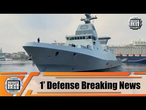 New Israeli Navy INS Magen Sa'ar 6 corvette Israel 1' Defense Naval Breaking News