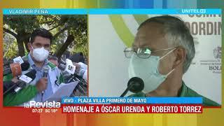 Demócratas rinden homenaje al doctor Urenda por su trabajo apoyando a esta organización política