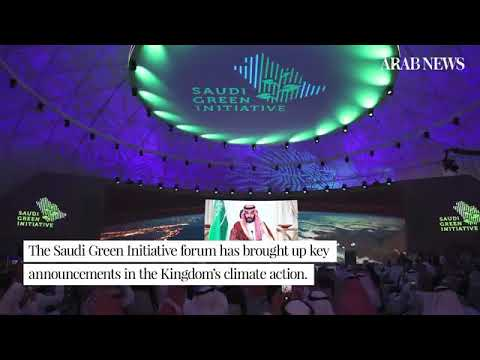 A round-up of the biggest talking points of Saudi Green Initiative Forum so far