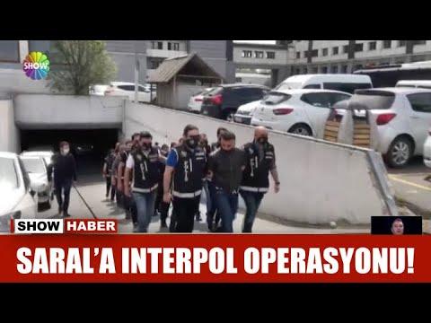 Saral'a Interpol operasyonu!