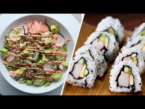 Make Your Own Homemade Sushi Platter ? Tasty Recipes