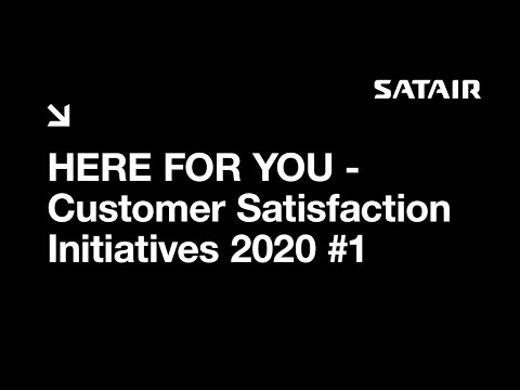 HERE FOR YOU - Customer Satisfaction Initiatives 2020 #1