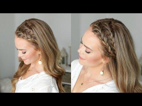 Double French Headband Braids | Missy Sue