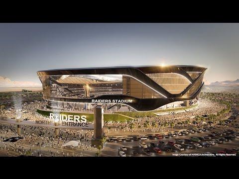 The flashy $2 billion Raiders stadium