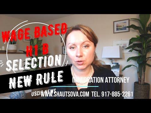 USCIS Latest News: Trump H1B Wage Based Selection Rule: H1B Visa Latest News