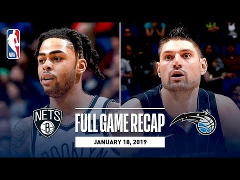 Full Game Recap: Nets vs Magic | D?Angelo Russell Drops 40 In Orlando