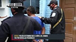 Capturado por matar a puñaladas a un hombre en La Montañita, Estelí - Nicaragua