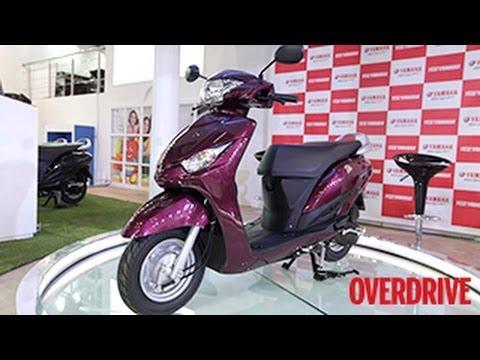 Yamaha Cygnus Alpha - First Look from 2014 Auto Expo