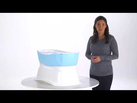 Summer Infant Right Height Bath Tub Product Video