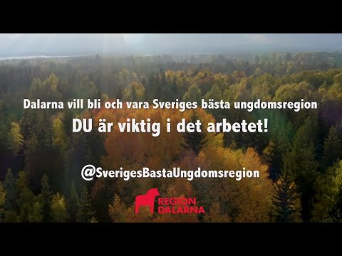 Dalarna - Sveriges bästa ungdomsregion