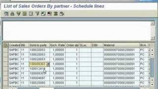 SAP SD VA05 Display Sales Documents - YouTube