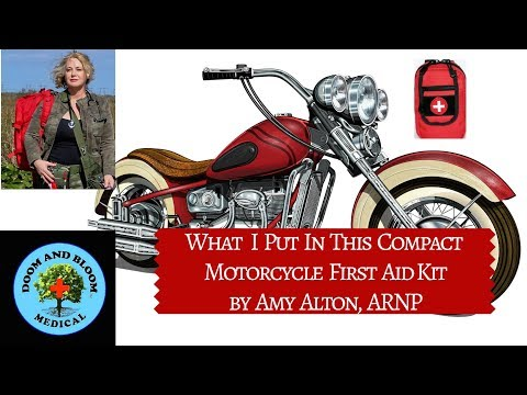 What is in My Compact Motorcycle First Aid Kit
