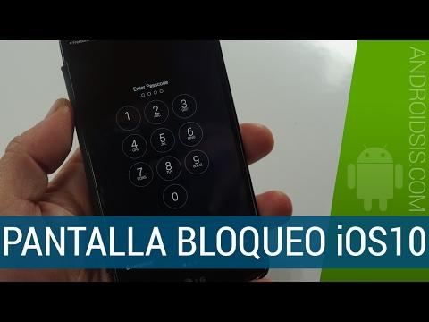La pantalla de bloqueo de iOS10 ahora en tu Android