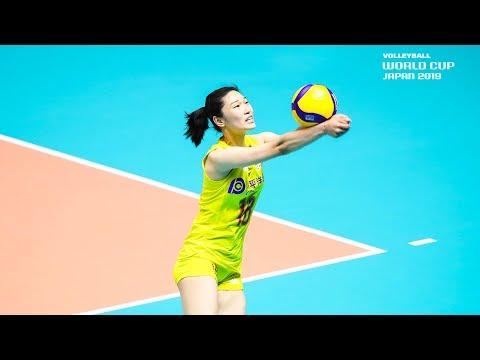 Wang Mengjie - Best Libero | World Cup Dream Team 2019