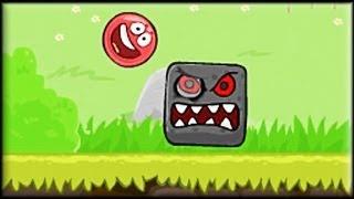 Red Ball 4 - Game Walkthrough (all 1-15 lvl + Boss fight)