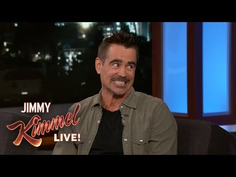 connectYoutube - Colin Farrell & Jimmy Kimmel Reveal Childhood Crushes