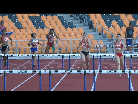 Robyn Lauren Brown took the BRONZE MEDAL in the Women's 400m Hurdles! | 2019 SEA Games