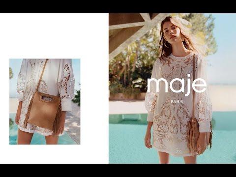 Maje Spring Summer 2016 Campaign
